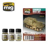 MIG Productions  MIG Weathering SUMMER DUST SET MIG7401