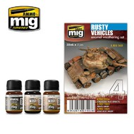 MIG Productions  MIG Weathering RUSTY VEHICLES MIG7403