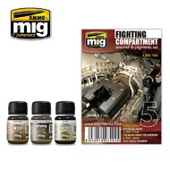 MIG Productions  MIG Weathering FIGHT COMPARTMENT SET MIG7404