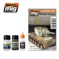 MIG Productions  MIG Weathering WINTER CAMO SET MIG7411