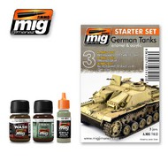 MIG Productions  MIG Weathering GERMAN TANKS SET MIG7412