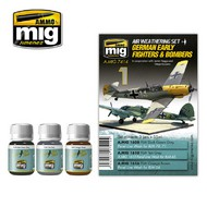 MIG Productions  MIG Weathering GERMAN EARLY FIGHTERS AND BOMBERS MIG7414