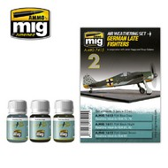 Ammo by Mig Jimenez  MIG Weathering GERMAN LATE FIGHTERS AMM7415