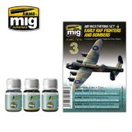 MIG Productions  MIG Weathering EARLY RAF FIGHTERS AND BOMBERS MIG7416