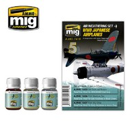MIG Productions  MIG Weathering WW II JAPANESE AIRPLANES MIG7418