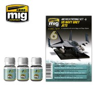 MIG Productions  MIG Weathering US NAVY GREY JETS MIG7419