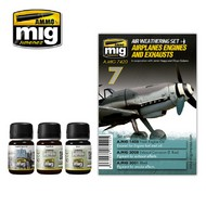 MIG Productions  MIG Weathering AIRPLANES ENGINES AND EXHAUSTS MIG7420