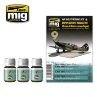 MIG Productions  MIG Weathering WW II SOVIET AIRPLANES (Green & Black camouflages) MIG7422