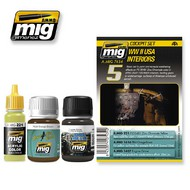 MIG Productions  MIG Weathering WW II USA INTERIORS  MIG7434