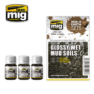 MIG Productions  MIG Weathering GLOSSY WET MUD SOILS MIG7442