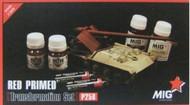 MIG Productions  Primer Red Primer Vehicle Transformation Paint Set (6 Colors) (D)<!-- _Disc_ --> MIG258