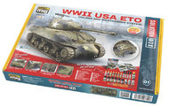 Solutions Box - WW2 USA ETO Colors and Weathering System #MIG7700