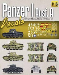 MIG Productions  1/16 Panzer I Ausf.A Decals MIG8060