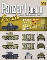 Ammo by Mig Jimenez  1/16 Panzer I Ausf.A Decals AMM8060