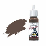 Ammo by Mig Jimenez   MiG-Ammo Figures Red Brown (17ml bottle) AMMF532