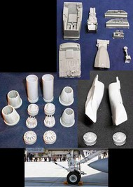 Mighty Hob Design  1/32 F/A-18E Super Detail Set (includes 32001-32002-32003-32004-32005) - Pre-Order Item MHDBIG32001