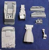 Mighty Hob Design  1/32 F/A-18E Cockpit (Resin) - Pre-Order Item MHDR32001