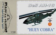 Mini Wing Models  1/144 Bell AH-1G 'HUEY COBRA' Decals USAF and Spain (ex FE Resin) MINI031