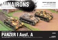 MINAIRONS MINIATURES  1/100 Spanish Civil War: Panzer I Ausf A Tank (5) (Plastic) MXR1502