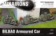 MINAIRONS MINIATURES  1/100 Spanish Civil War: Bilbao Armored Car (4) (Resin) MXR1503