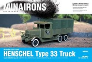 Spanish Civil War: Henschel Type 33 Truck (1) (Resin) #MXR5615