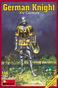 MiniArt Models  1/16 German Knight, XV Century MNA16002