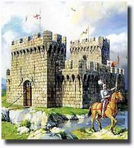 MiniArt Models  1/72 Medieval Fortress MNA72004