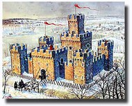 MiniArt Models  1/72 Medieval Castle MNA72005