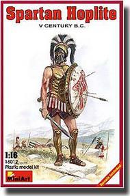 MiniArt Models  1/16 Spartan Hoplite 5th Century B.C. MNA16012