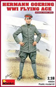 MiniArt Models  1/16 Hermann Goering WWI Flying Ace- Net Pricing MNA16034