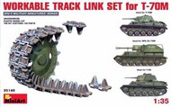 Workable Track Link Set for T-70M #MNA35146
