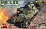 M3 Lee Early Production Tank w/Full Interior (New Tool) #MNA35206