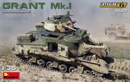 M3 Grant Mk1 Tank w/Full Interior (New Tool) #MNA35217