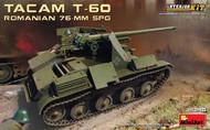 WWII Romanian Tacam T-60 76mm SPG Tank w/Full Interior #MNA35240
