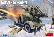 Soviet BM8-24 Rocket Launcher Based on 1.5-Ton Truck (New Tool) #MNA35259