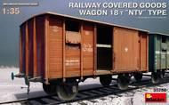 WWII Railway Boxcar 18t NTV Type #MNA35288