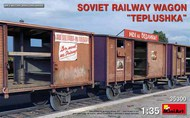 Soviet Railway Wagon 'Teplushka' #MNA35300