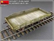 WWII Soviet 16.5-18 Ton Railway Flatbed #MNA35303