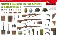 Soviet Infantry Weapons & Equipment #MNA35304