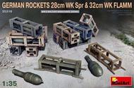 German Rockets 28cm WK Spr & 32cm WK FLAMM #MNA35316