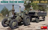 German D8506 Military Tractor w/Cargo Trailer #MNA35317