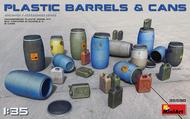 Plastic Barrels (12) & Cans (12) #MNA35590