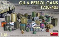 Oil & Petrol Cans 1930-40s (36) #MNA35595
