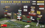 German Road Signs WW2 Eastern Front Set 1 #MNA35602