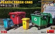 Plastic Trash Cans (4) #MNA35617