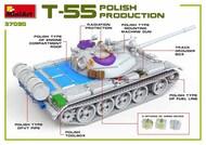 Soviet T-55A Polish Production #MNA37090