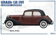 German Car 170V Cabrio Saloon #MNA38016