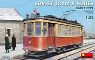 Soviet Tram X-Series Early Type #MNA38020