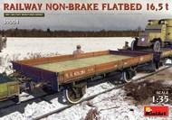 WWI Russian 16.5-Ton Railway Non-Brake Flatbed #MNA39004