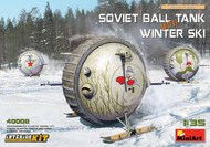 Soviet Ball Tank w/Winter Ski & Interior #MNA40008
